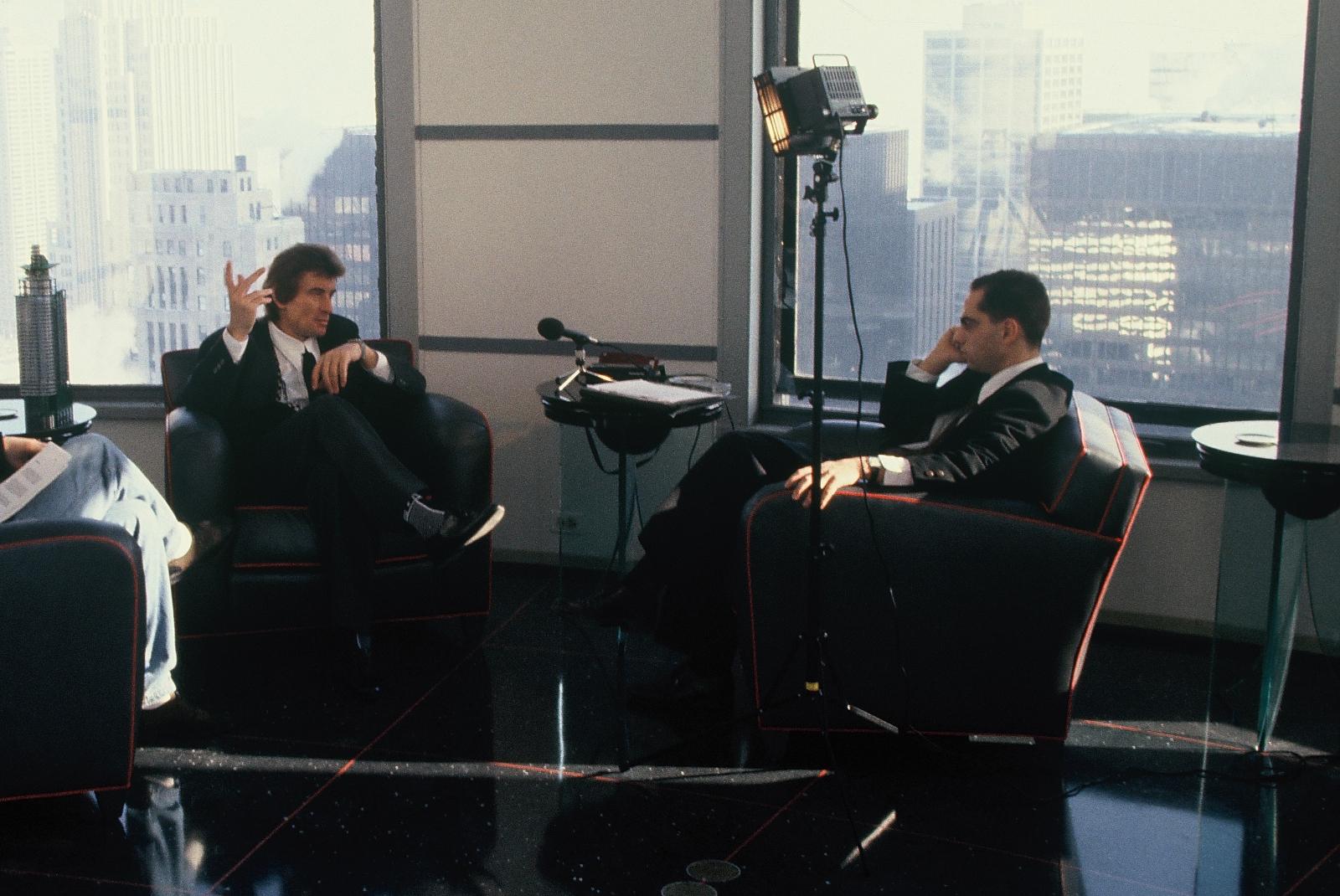 mit Helmut Jahn in Chicago